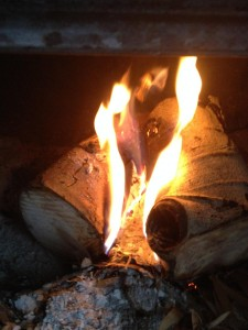 Sauna Fire